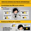 Infographie : PME françaises : 47% voient dans l'IT un levier de croissance de parts de marché